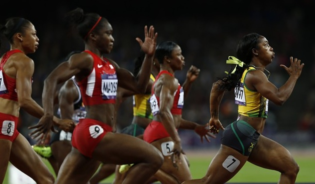 Awesome olympic names spotlight on shelly ann fraser pryce words to